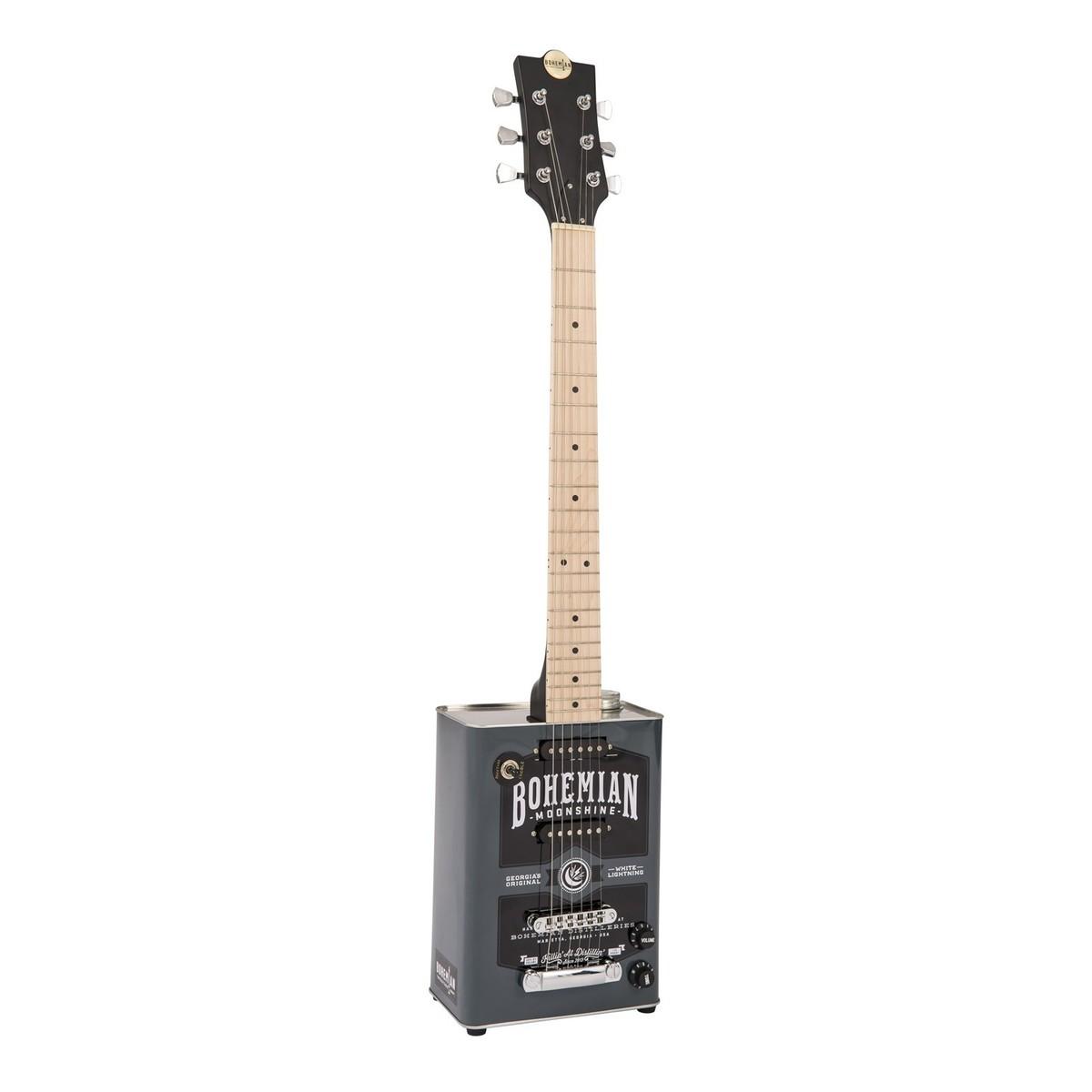 bohemian boho electric guitar moon shine b stock at gear4music. Black Bedroom Furniture Sets. Home Design Ideas