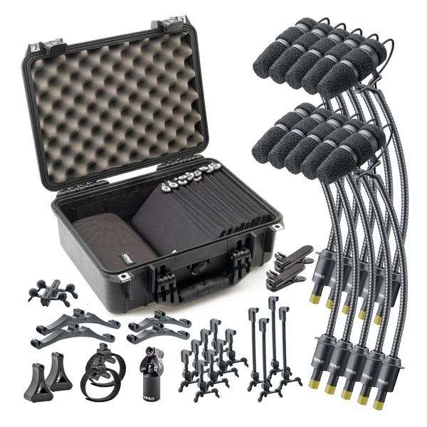 DPA CORE 4099 Classic Touring Kit with 10 Microphones