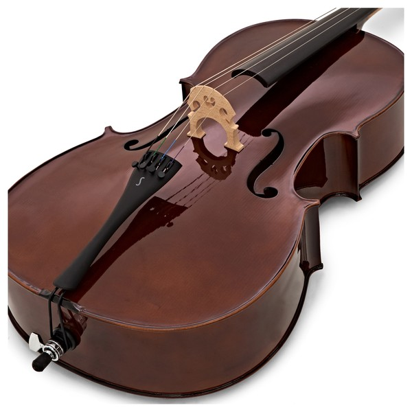 Stentor Student 1 Cello Outfit, 4/4 close