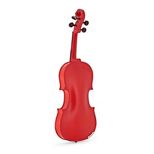 Stentor Harlequin Violin Outfit, Cherry Red, 1/2 back