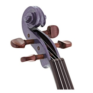 Stentor Harlequin Violin Outfit, Light Purple, 1/2 head