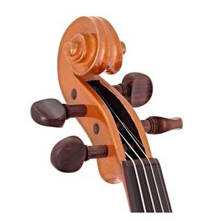 Stentor Harlequin Violin Outfit, Orange, 3/4 head