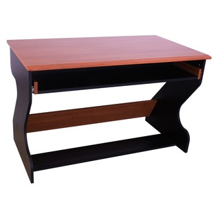 Zaor MIZA Junior MKII Studio Desk, Black Cherry - Angled