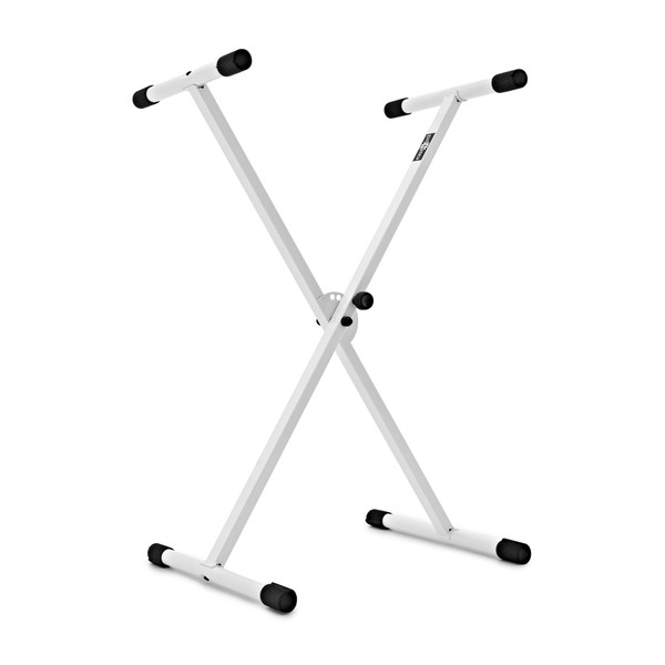 X-Frame Keyboard Stand, White by Gear4music back