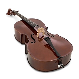 Stentor Student 1 Cello Outfit 1/2, angle