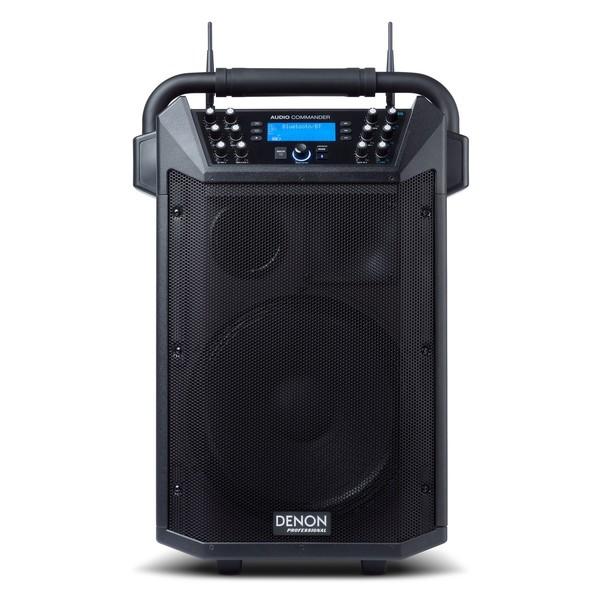 Denon Audio Commander Professional Portable PA System, Speaker Front