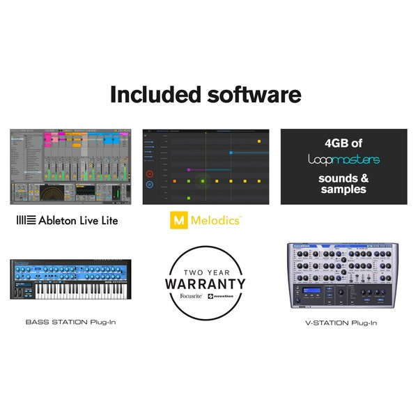 Launchpad Mini MKII - Included Software