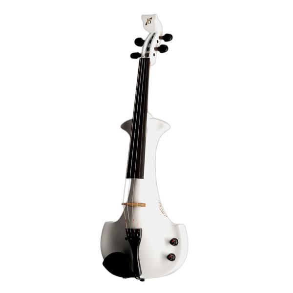 Bridge Aquila Octave Electric Violin, White