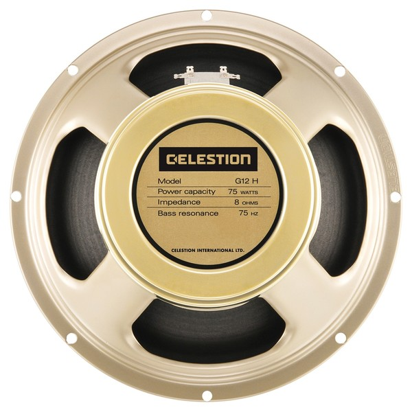 Celestion G12H-75 Creamback 8 Ohm Speaker Front View