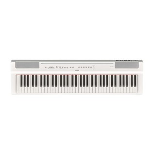 Yamaha P121 Digital Piano, White