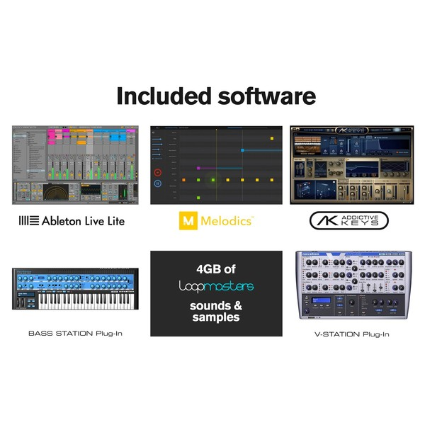 Novation LaunchKey 25 MK2 - Included Software