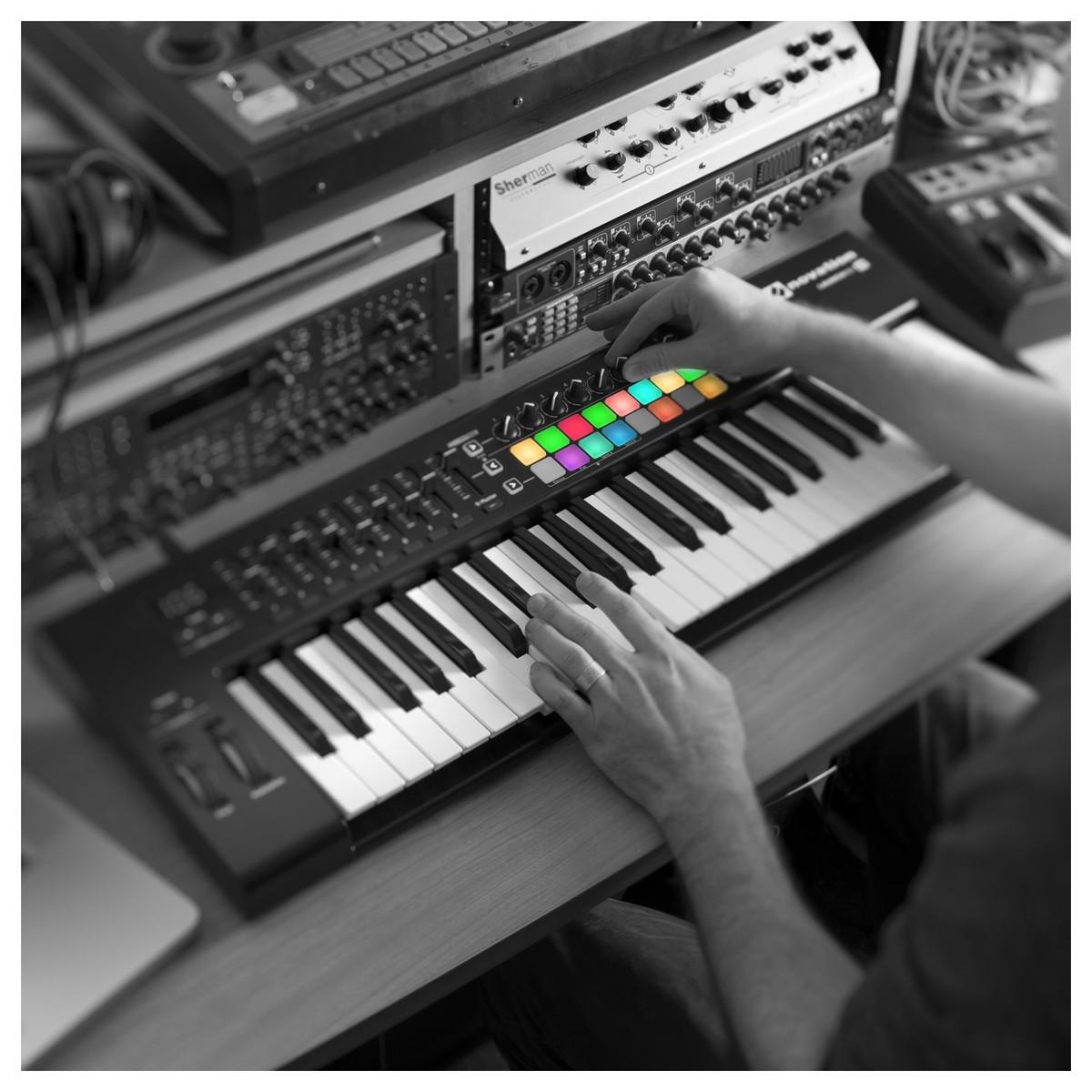 novation launchkey 49 mk2 midi controller keyboard at gear4music. Black Bedroom Furniture Sets. Home Design Ideas