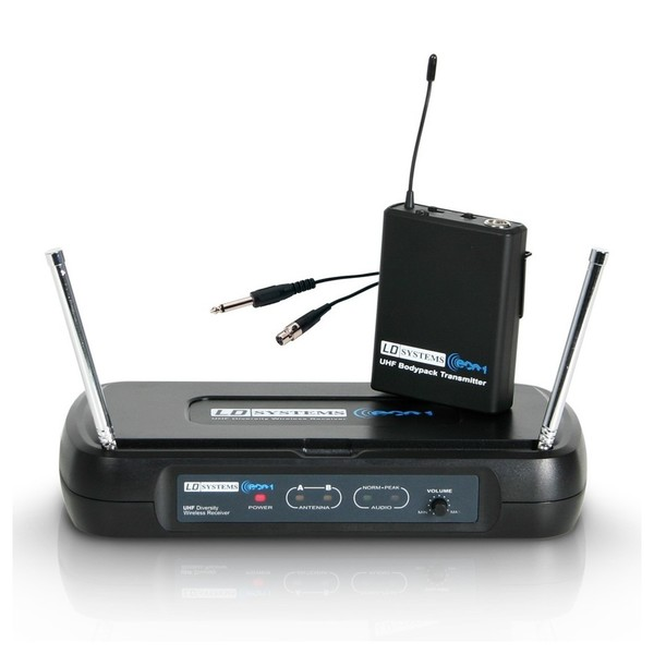 LD Systems ECO 2 Wireless System with Instrument Cable