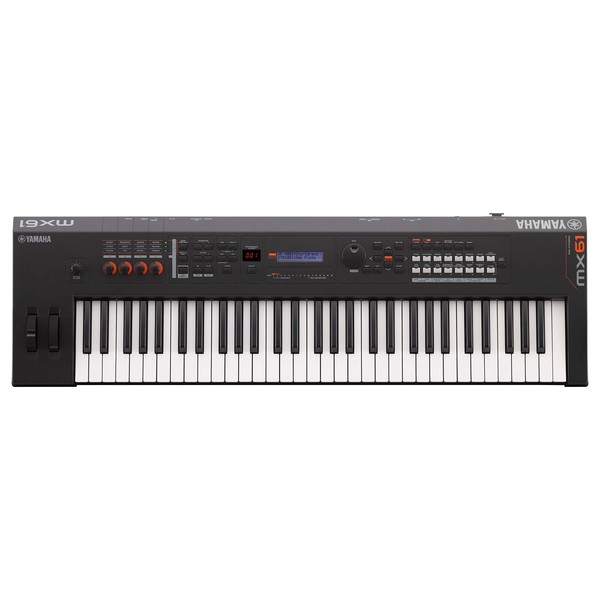 Yamaha MX61 II Music Production Synthesizer, Black
