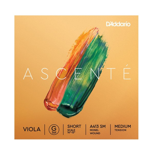 D'Addario Ascenté Viola G String, Short Scale, Medium Tension
