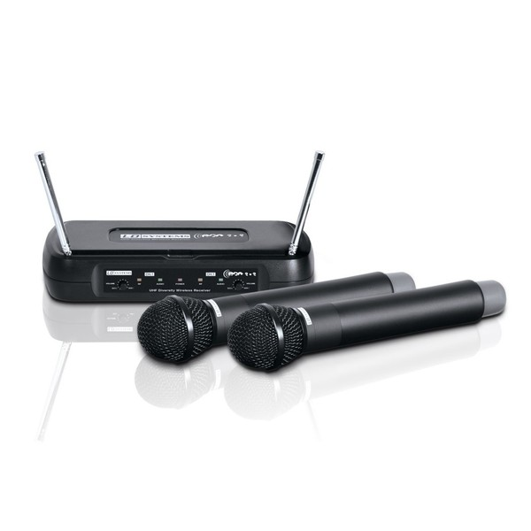 LD Systems ECO 2x2 Dual Wireless System with Handheld Microphones