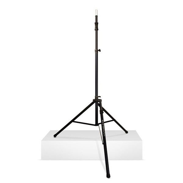 Ultimate Support TS-110BL Tall Speaker Stand, Lift Assist + Leveling