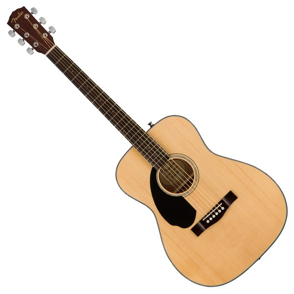 Fender CC-60S Concert Acoustic Left Handed, Natural Front View