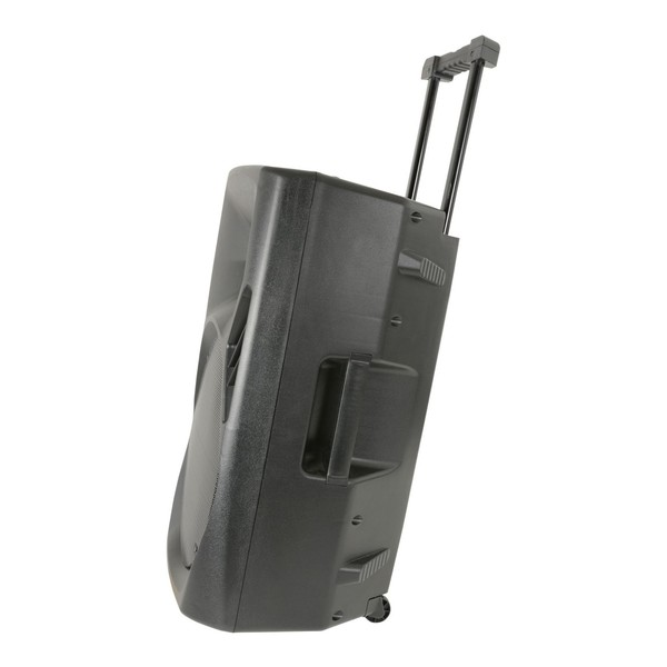 QTX Quest PA15 Portable PA Speaker, Side with Handle