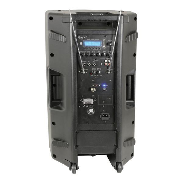 QTX Quest PA15 Portable PA Speaker, Rear