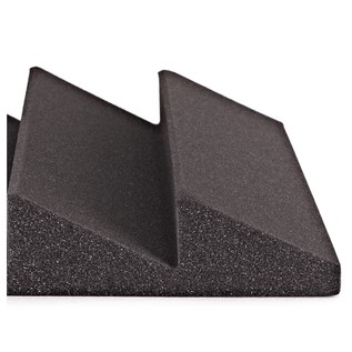 AcouFoam 30cm 4-Wedge Acoustic Panel by Gear4music