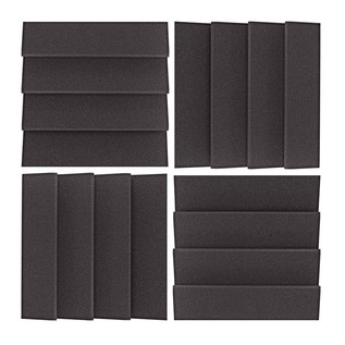 AcouFoam 30cm 16-Wedge Acoustic Panel by Gear4music
