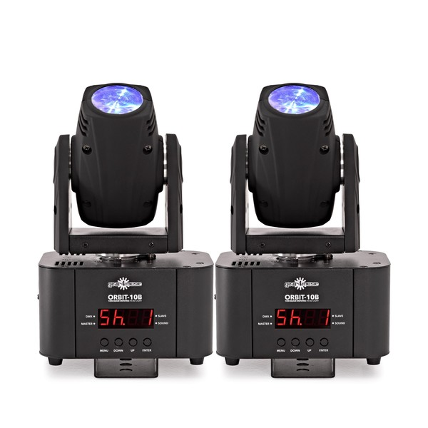ORBIT-10B 10W Moving Head Beam Twin Pack