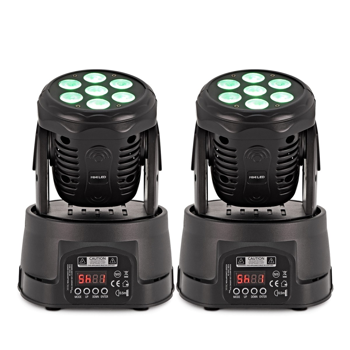 orbit 70w moving head lights twin pack at gear4music. Black Bedroom Furniture Sets. Home Design Ideas
