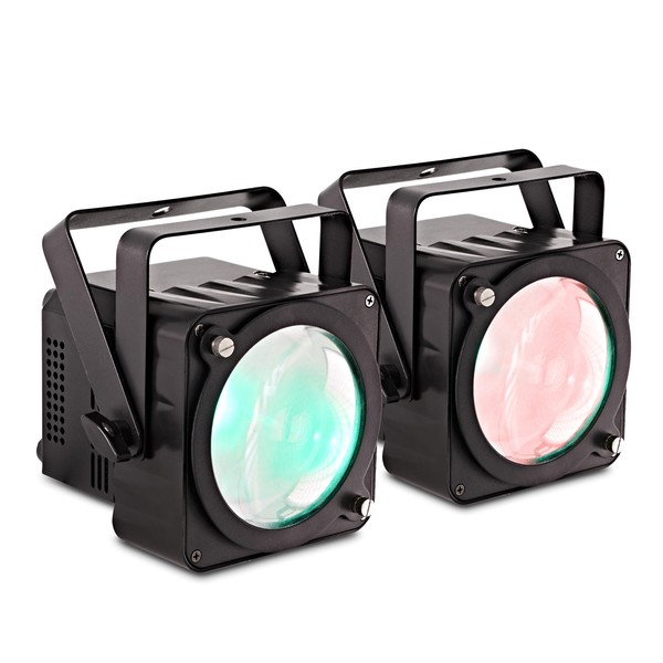SOL 30W COB Par Lights Twin Pack
