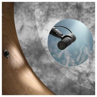 DPA d:dicate 2011 2011C Twin Diaphragm Condenser Mic, MMP-C, Bass Drum View Through Port