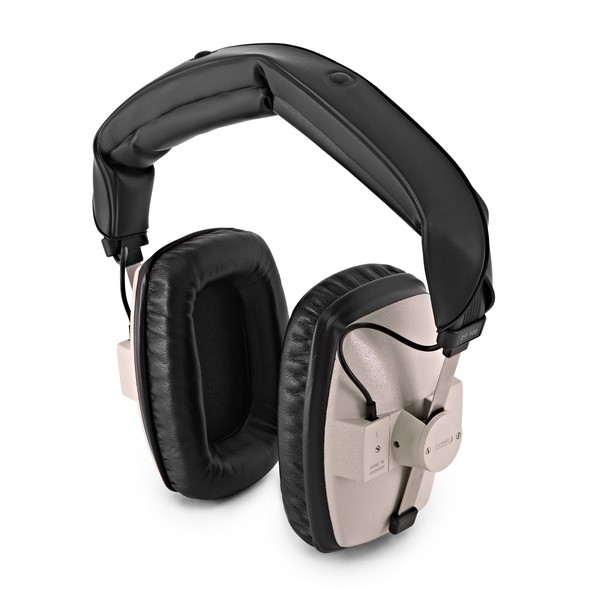Beyerdynamic DT 100 Headphones, 400 Ohm, Grey angle
