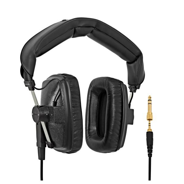 Beyerdynamic DT 100 Headphones, 400 Ohm, Black cables