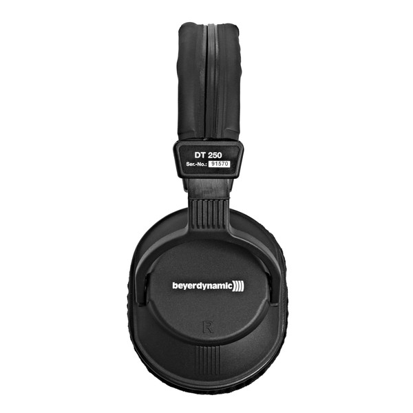Beyerdynamic DT 250 Pro Headphones, 80 Ohm side