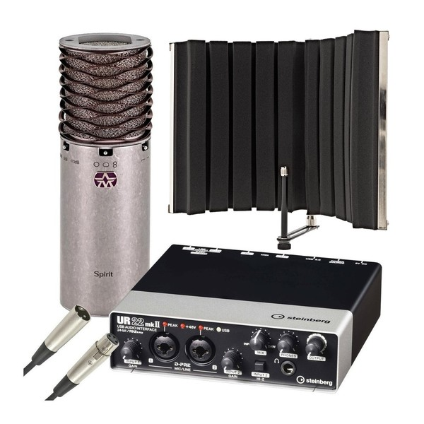 Aston Spirit Home Recording Bundle - Main