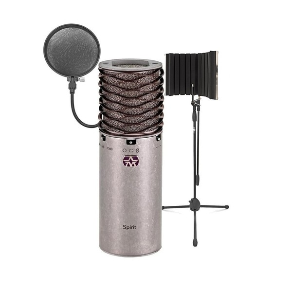 Aston Microphones Spirit Multi Condenser Mic With Filter And Stand - Main