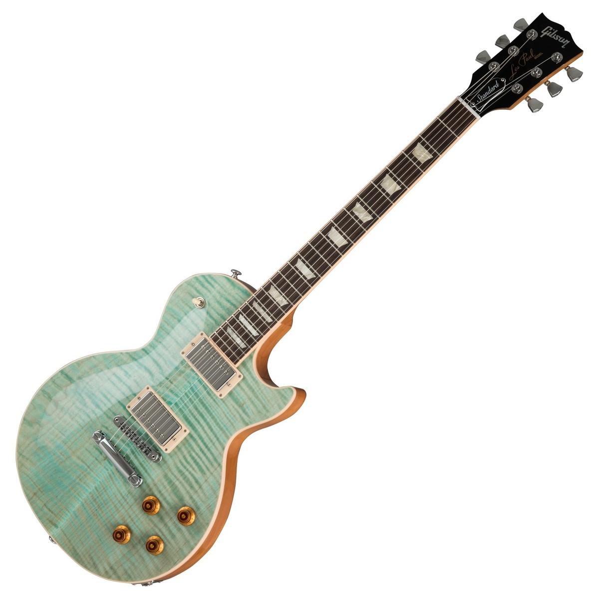 Gibson Les Paul Seafoam Green : gibson les paul standard 2019 seafoam green at gear4music ~ Hamham.info Haus und Dekorationen