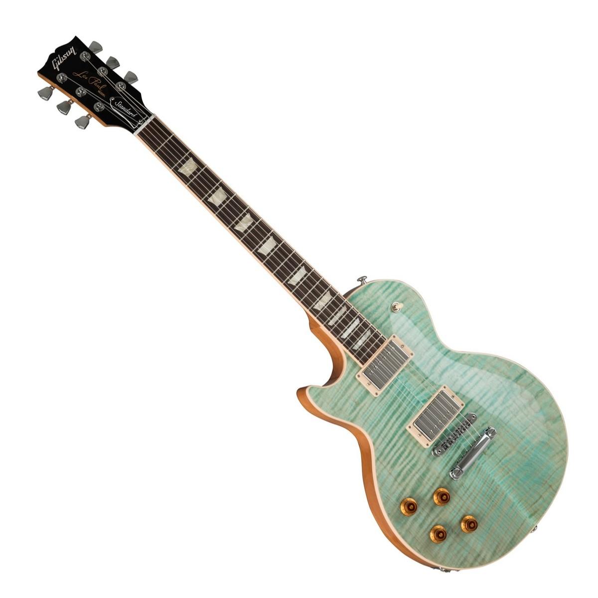 Gibson Les Paul Seafoam Green : disc gibson les paul standard 2019 left handed seafoam green at gear4music ~ Hamham.info Haus und Dekorationen