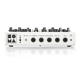 SOMA laboratory Lyra-8 Analog Synthesizer, White Angel back