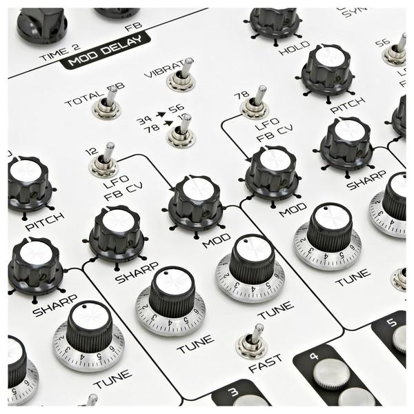 SOMA laboratory Lyra-8 Analog Synthesizer, White Angel close 2