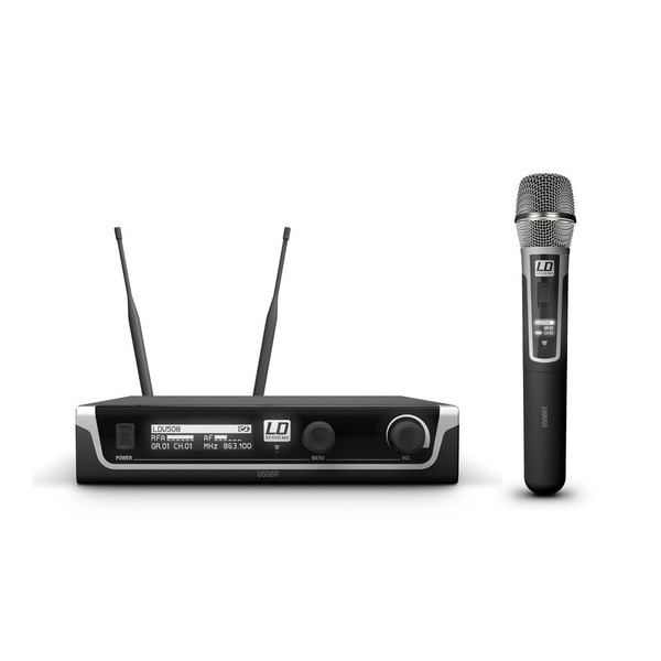 LD Systems HHC Single Handheld Condenser Mic Wireless System
