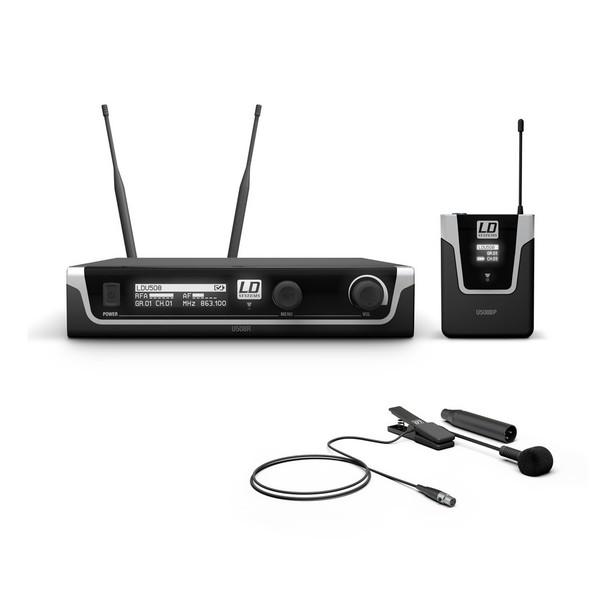 LD Systems BPW Single Clip On Mic Wireless System