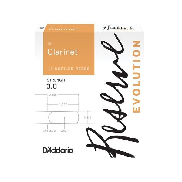 D'Addario Reserve Evolution Bb Clarinet Reeds