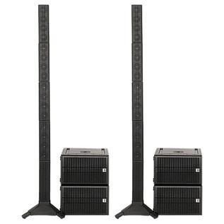 HK Audio Elements Acoustics Four Pack