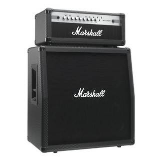 marshall mg100hcfx amp head cabinet half stack bundle at. Black Bedroom Furniture Sets. Home Design Ideas