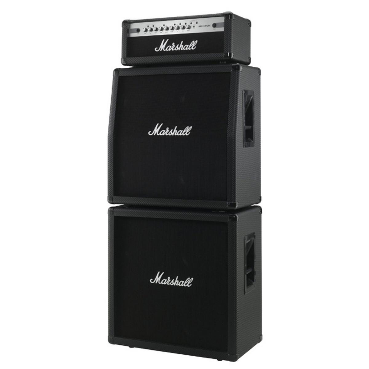 Marshall MG100HCFX Amp Head & Cabinet Full Stack Bundle at ...