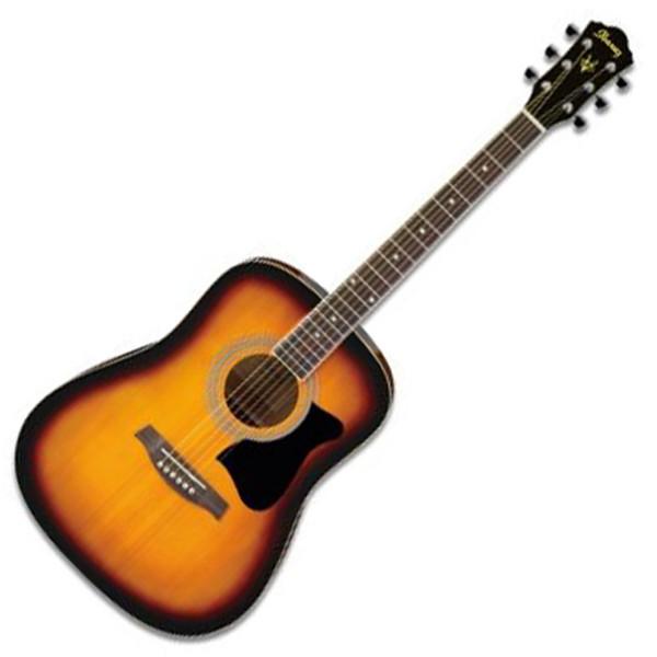 Ibanez V50NJP Acoustic Guitar Jampack, Vintage Sunburst