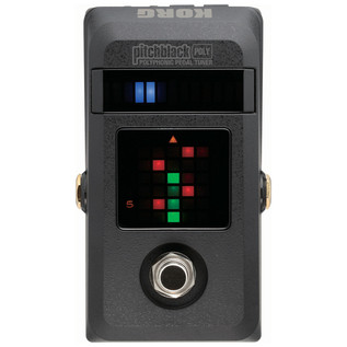 Korg PitchBlack Poly, Polyphonic Pedal Tuner - Front2