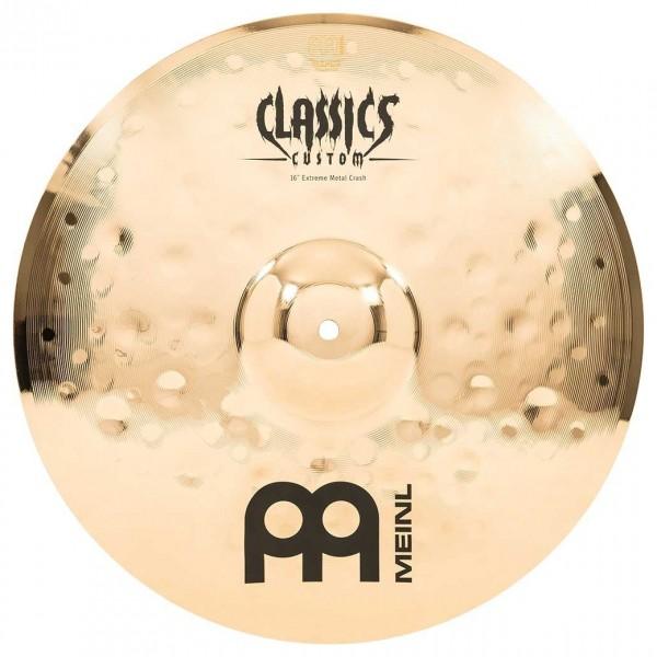 "Meinl Classic Custom Extreme Metal 16"" Crash"