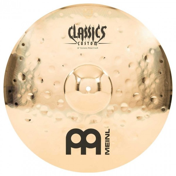 "Meinl Classics Custom Extreme Metal 18"" Crash"