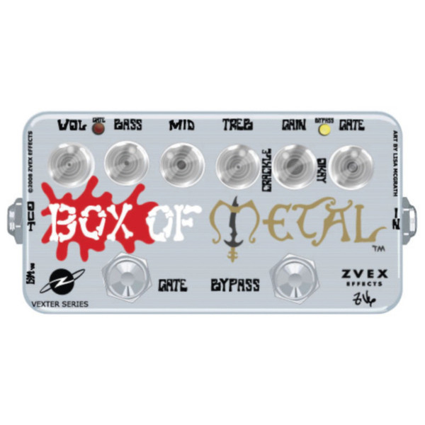 Z.VEX Vexter Box of Metal Guitar Pedal